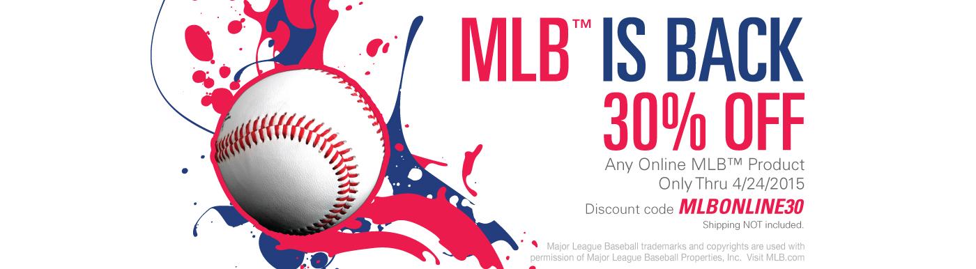 MLB 30%
